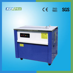 Semi Automatic High Table Strapping Machine (KENO-S103) pictures & photos