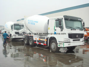 Sinotruk Brand Concrete Mixer Truck pictures & photos
