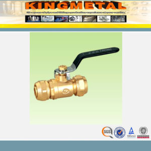 Forged Brass Female Gas Ball Valve pictures & photos