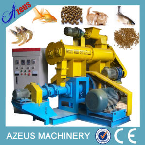 CE Azeus 350-400kg/H Animal Pet Fish Feed Pellet Machine