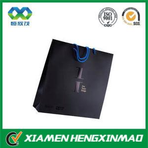 China Supplier Xiamen Luxury Black Paper Bag