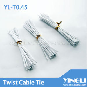 PVC Material Twist Ties (YL-T0.55) pictures & photos