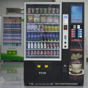 2017 New Design Coffee Vending Machine Combo Vending Machine pictures & photos