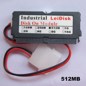 512MB Leidisk Industrial Dom 512m Disk on Module 40pin IDE Flash Module pictures & photos