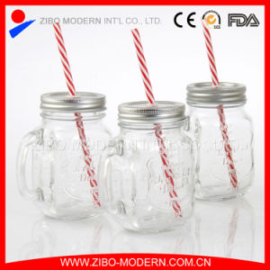 Wholesale 16oz Glass Mason Jars with Straw Lid pictures & photos