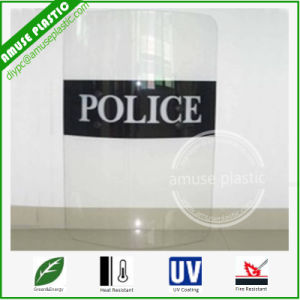 Clear High Impact Bending Polycarbonate Sheet for Police Shield pictures & photos