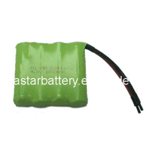 AAA 600mAh NiMH Rechargeable Battery Pack pictures & photos