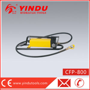 Easy Operated Hydraulic Foot Pump (CFP-800) pictures & photos