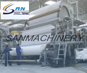 Facial Tissue Making Equipment Automatic Toilet Paper Machine pictures & photos