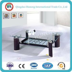 Clear Tempered Glass Tea Table Glass pictures & photos