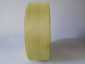 75mm High Strong Pulling Force Aramid Fiber Webbing for Ship Factory pictures & photos