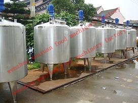 Stainless Steel Liquid Mixing Tank Blending Tank Agitating Tank pictures & photos