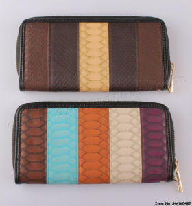 2016 New Fashion Leather Wallet (HAW0475) pictures & photos