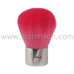 Pink Synthetic Hair Kabuki Cosmetic Brush pictures & photos