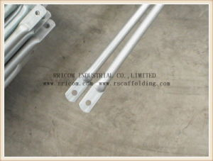 Frame Scaffolding Parts Tubular Cross Brace pictures & photos