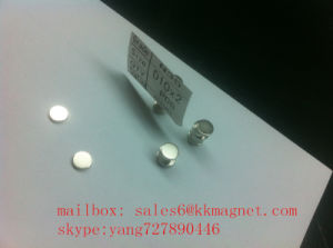 Black Epoxy Neodymium Permanent Magnet disc magnet pictures & photos