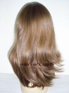 "100% Virgin European Hair Top Hand Injected Sheitels Kosher Wigs-16"""