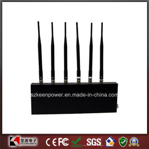6 Antennas WiFi Jammer + Cell Phone Jammer pictures & photos