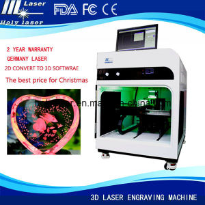 3D Laser Inside Engraving Machine pictures & photos