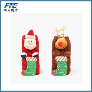Fleece Christmas Socks/Stocking for Children pictures & photos