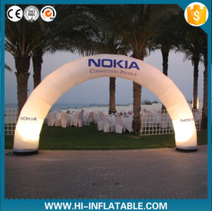 Portable Inflatable Lighting Arch LED Light Wedding Arch Cheap Inflatable Arch for Sale