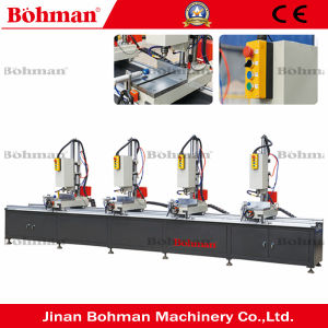 Four Head Window and Door CNC Drilling and Milling Machine pictures & photos