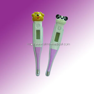 Digital Thermometer Soft Tip Waterproof pictures & photos