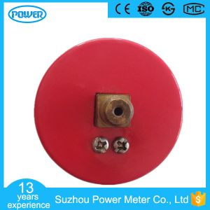 50mm Factory Price Red Steel Case Manometer pictures & photos