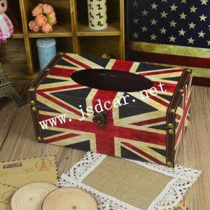 Flag Creative Tissue Box Tissue Box Retro (JSD-P0017) pictures & photos