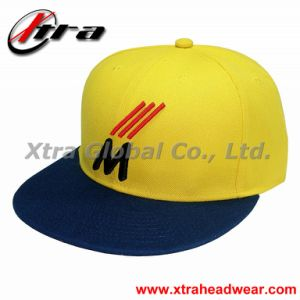 Yellow Flat Baseball Cap Casual Hip Hop (XT-F011) pictures & photos