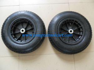 Wheelbarrow Wheels, 16inch Pneumatic Rubber Wheel (16*4.00-8) pictures & photos