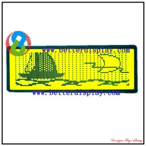 Yellow Green Panel Standard Graphic Modules LCD LCM pictures & photos