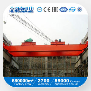 450/80t Double Beam Bridge Crane with Trolley (QD Model) pictures & photos