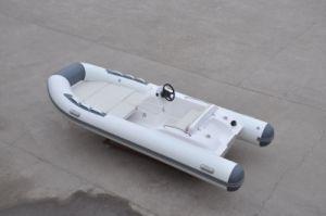 Liya China Mini Sport Rib 4.3m Speed Inflatable Fiberglass Hull Boat (LY430) pictures & photos