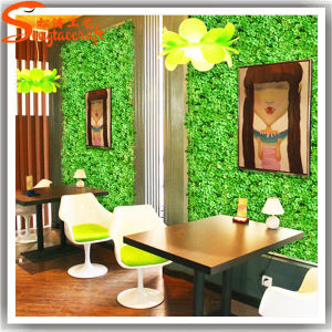 2015 Indoor Decorative Artificial Fake Vertical Green Wall pictures & photos