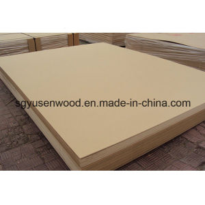 Plain Raw Melamine Laminated MDF Board pictures & photos