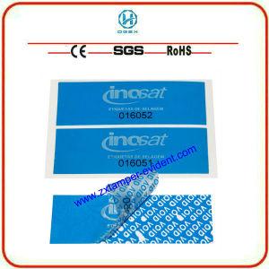 Printable Tamper Evident Label