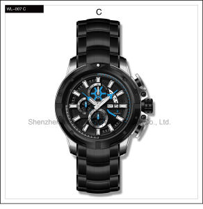 High Level Automatic Swiss Watch Sport Silicone Watch Men′s Wrist Watch pictures & photos