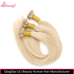 100% Unprocessed Human Hair I-Tip Hair Extensions Wholesale pictures & photos