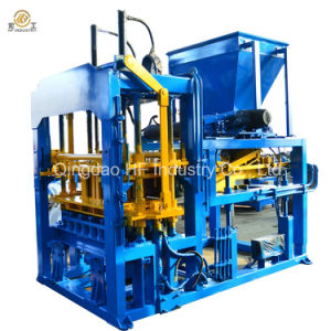 Qt4-15D Automatic Hydraulic Concrete Cment Sand Interlock Paver Hollow Block Making Machine pictures & photos