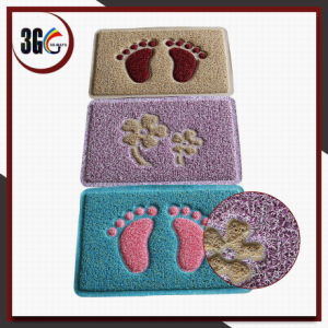 Double Color PVC Design Door Mat pictures & photos