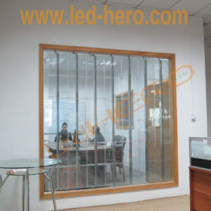 P31.25 Transparent LED Display Glass Screen Video Wall pictures & photos