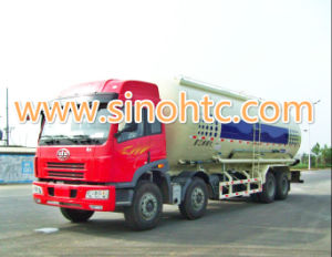 Faw 40cbm Powder Cement Tank Truck pictures & photos