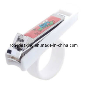 N-0776s-1 FDA Certificated Baby Nail Cutterr with Ring Handle pictures & photos