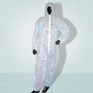Disposable Protec Coverall of SMS Material Protective Clothing pictures & photos