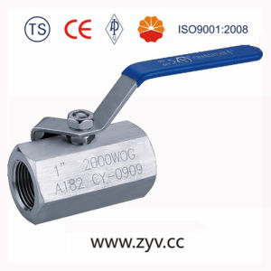 "1"" 2000wog Threaded End A182 Forged Ball Valve pictures & photos"