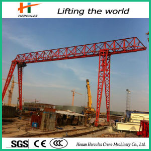 Single Beam Truss Type Gantry Crane pictures & photos