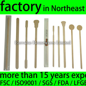 Wooden Coffee Stirrers, Birch Wood Coffee Stir Stick