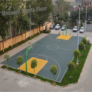 China Cheapest 2017 Hot Sale Suge Indoor/Outdoor Sports Flooring pictures & photos