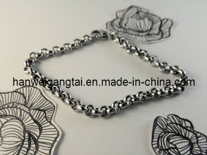 Custom Design 316L Stainless Steel Round Rolo Chain pictures & photos